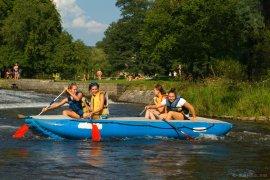 Rafting na Jizeře
