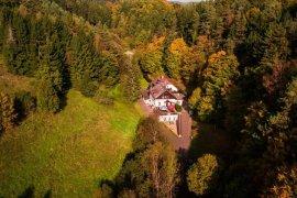 podzim v Českém ráii na Bartošově peci